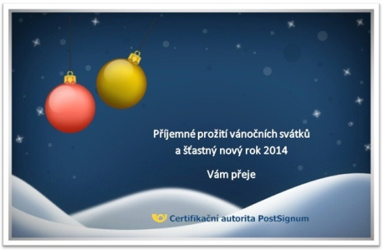 PF 2014 - �sp�n� nov� rok!